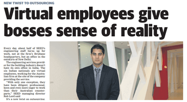 Virtual Employees give bosses sense of reality