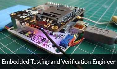 Embedded Testing and Verification