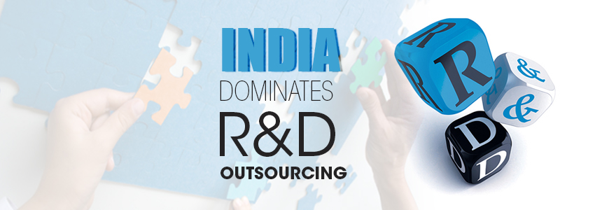 India accounts for one-third of the global R&D and services market