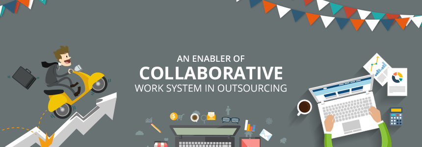 collaborative work wsystem in outsourcing