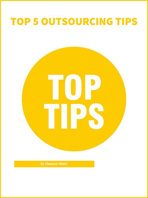 Top 5 Outsourcing Tips