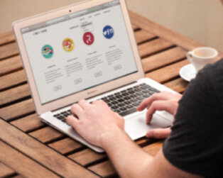 Corporate Website Development for A Mid Sized IT Company