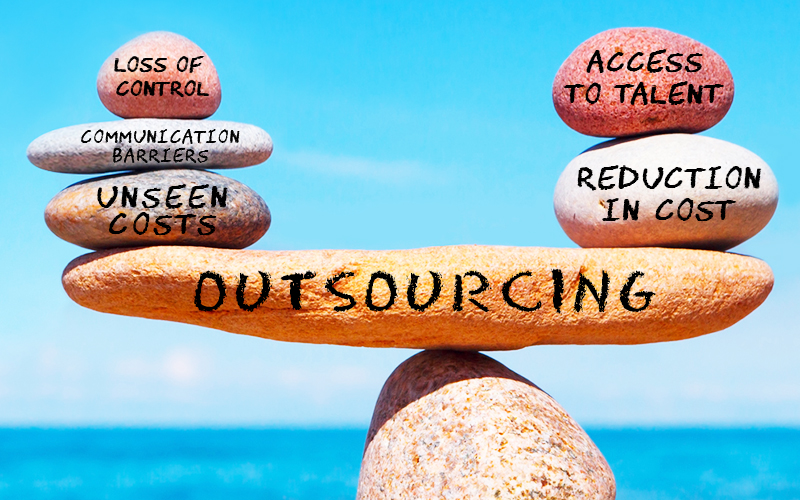 pitfalls of outsourcing while remaining in budget