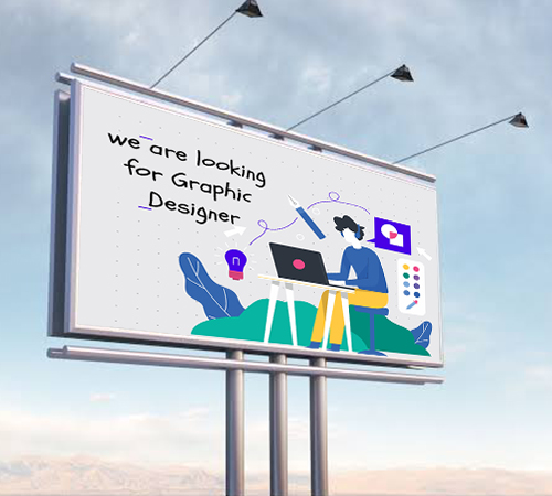 we are looking for graphics designer