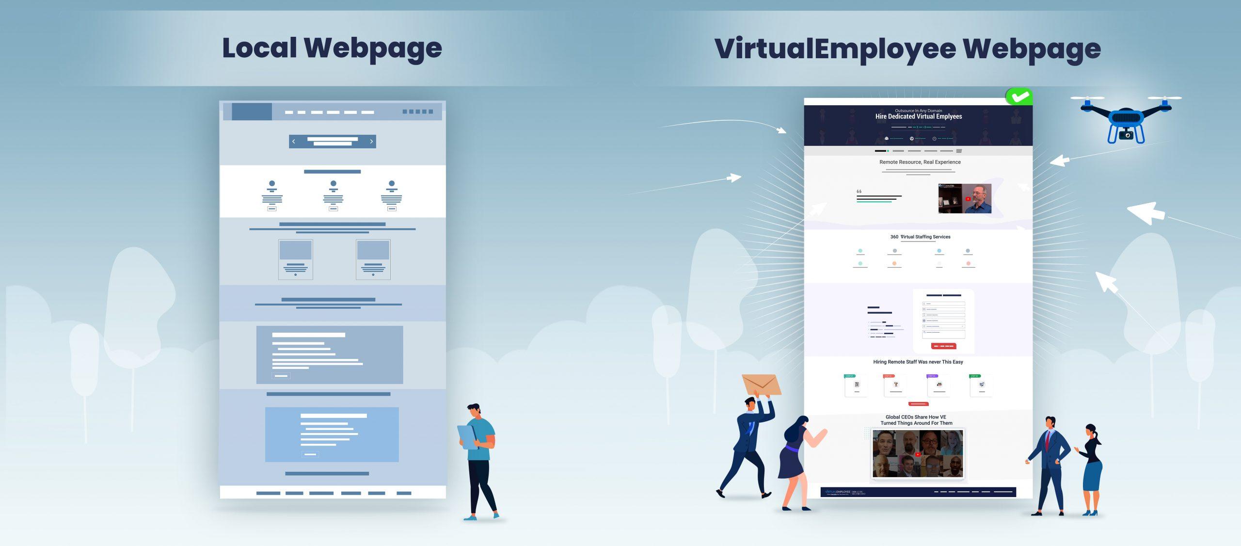 Local Webpage VE's Webpage